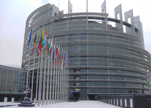 European Union Parliament 02 (Tower of Babel) by NixSeraph