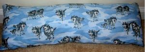 wolfie pillow by ladyryu