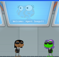 agent seagull by theAWSOMEpeace