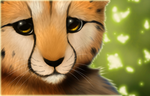 Cheetah cub+Speedpaint by Yechii