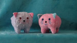 Texture Pudgie Kitties by WhimzicalWhizkerz