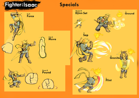 Super Smash Bros Isaac's Movest: Specials by TheInkAdept