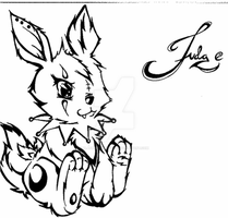 TATTOO: Rabbit by blackdragoneyes