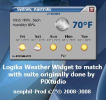 Logika Weather Widget by neophil
