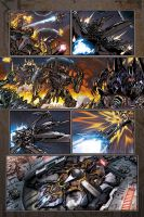 reign of starscream preview 2 by markerguru