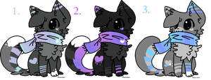 Adoptables!! 10 points each! :CLOSED: by misconceiving