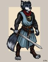 Wolf Knight 02 - Balian of Ibelin by TheLivingShadow