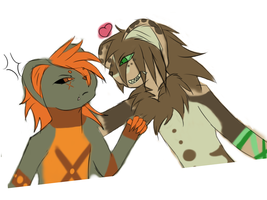 Sketch--Scolding Equals Love by Anidra