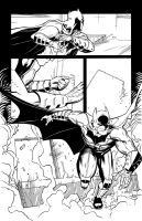 Batman Annual 2 page 12 inks by Csyeung