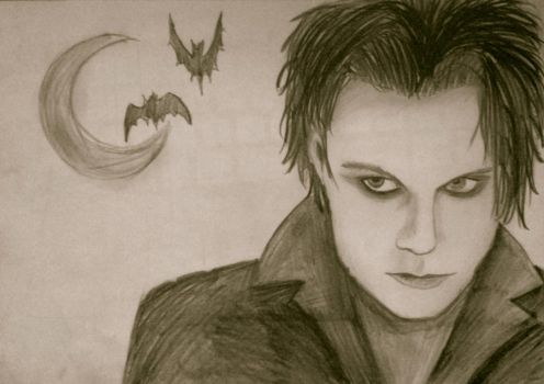 Ville Valo join me portrait by Nuclear000Rainbow