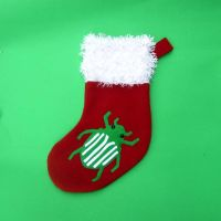 Scarab beetle christmas stocking by WeirdBugLady