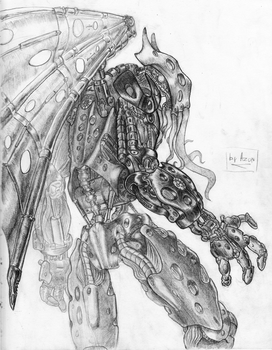 Biomechanical Cthulhu by AzonBobcat