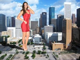 Mila Kunis Red Bandage Dress by danforddan