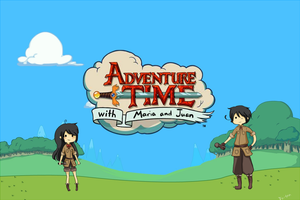 APH: Adventure time with Maria and Juan by Piri-tan