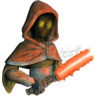 squirrellqueen67  Jawa Jedi by RogueDragon