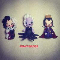 Sweet disney villains by Mameah