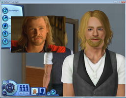 Sims 3 - THOR by Pelissa