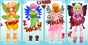 fairy adoptbles CLOSED none left by aidyn-chronicles