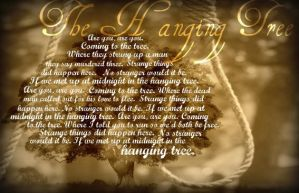 The Hanging Tree by 1000maddy
