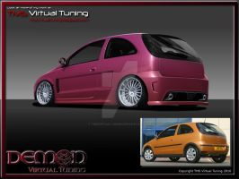 Demon Corsa C for VTU contest by TMSVirtualTuning
