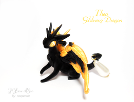 Theo, Goldwing dragon by rosepeonie