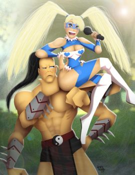 Goro and R. Mika by andre4boys