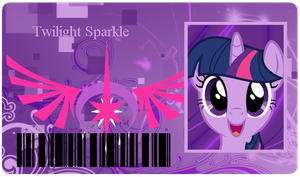 Twilight Sparkle info card by BronyXceed