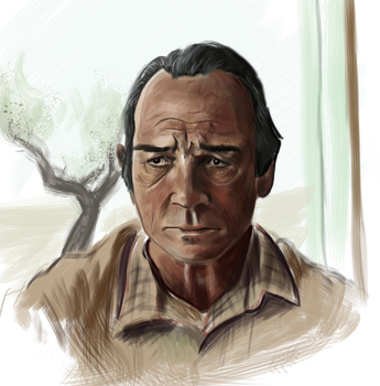 Tommy Lee Jones by COMBAT-BANANA