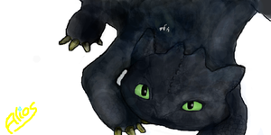 Toothless by Alrow