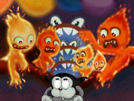 Cartoon Hell by Makinita