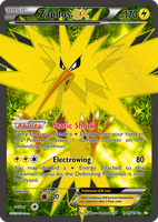 TheAlphaRanger Fake Cards: Zapdos EX by TheAlphaRanger