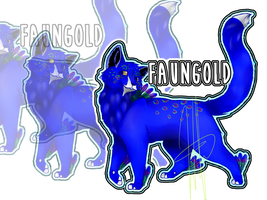 Ref-Sheet: Faungold {courageofwarrior} by Wifu00