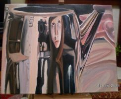 Oil Painting: Reflections by Catching-Smoke