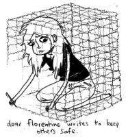 florentine's cage. by boobookittyfuck