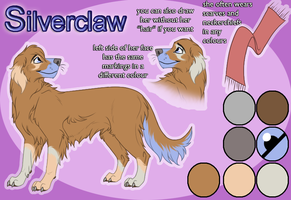 Silverclaw - Character Sheet by johndimplechester