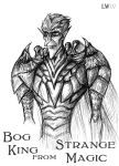 Bog king from Strange Magic by Logna