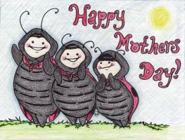 Mothers Day ladybugs by GG-lover