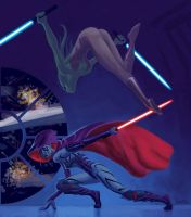 Female Sith by jasonbarton