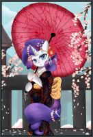 Morning Geisha by pridark