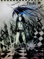 Black Rock Shooter by iKuroiTenshi