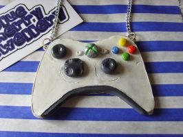 XBox 360 Controller Necklace 2 by tyney123