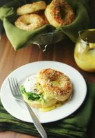 Bagels and Eggs Florentine by sasQuat-ch