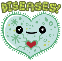 Diseases shirt design by scythemantis