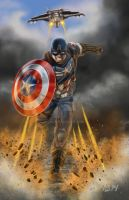Captian America by 1314