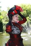 Embroidered Jacket with Fancy Hat by AzreGreis
