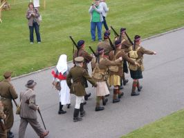 Scottish WWI Troops 01 by Axy-stock