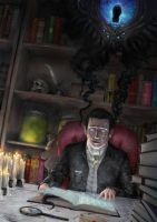 Howard Phillips Lovecraft 1 by Theocrata