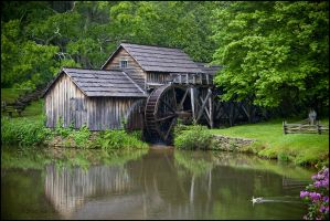 Mabry Mill by bamako