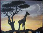Painting African Spirit by BerryMouse