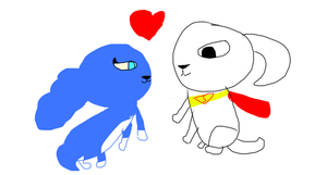 Ru and Krypto in love by DixieDevated